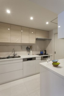 キッチン、クッチーナ、水回り、動線、ユーティリティー、三井不動産リフォーム
