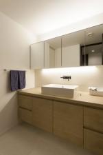 洗面、サニタリー、LED、照明、リノベーション、三井不動産