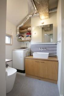 トイレ、洗面、脱衣所、水回り、ワンスペース、浴室、動線、リノベる。