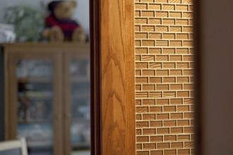 天然素材、壁、デコ、木材、リフォーム、マンション、グラデンパシフィック