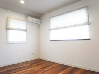 洋室、2F、フローリング、戸建、リフォーム、リノベーション、ロクサ
