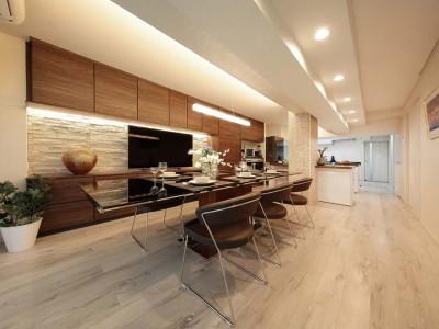 「イトーピアホーム株式会社」のリノベーション事例「住空間にサロンを持つという選択」