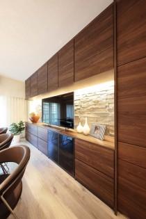 壁面、収納、アクセントタイル、間接照明、イトーピアホーム株式会社