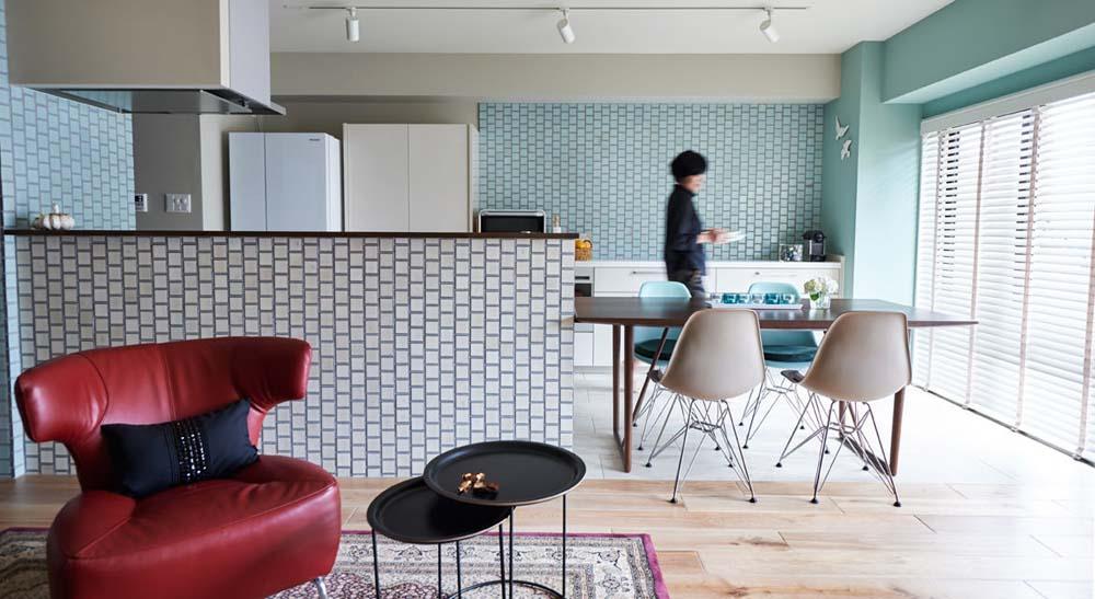「インテリックス空間設計」のリノベーション事例「ヨーロッパ生活が長かったので、 永く大切に住める家が欲しかった」