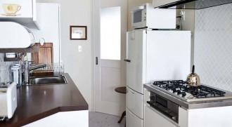 キッチン、Ⅱ型、リビング、オープン、マンション、リノベーション、インテリックス空間設計