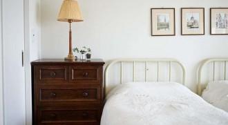 ベッド、寝室、家具、レトロ、額縁、装飾、インテリックス、intellex