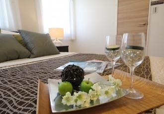 ホテルライク、ベッドルーム、寝室、マンションリノベーション、リノステージ
