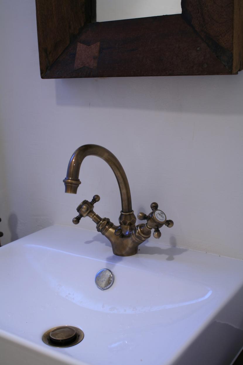 水栓,海外製水栓,手洗い場,リノベーション,