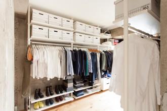 洋室、WIC、収納家具、IKEA、リノベーション、エコデコ