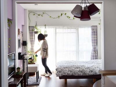 「インテリックス空間設計」のマンションリノベーション事例「ヴィンテージ×フレンチ。  「私らしさ」の、心地よい共存。」