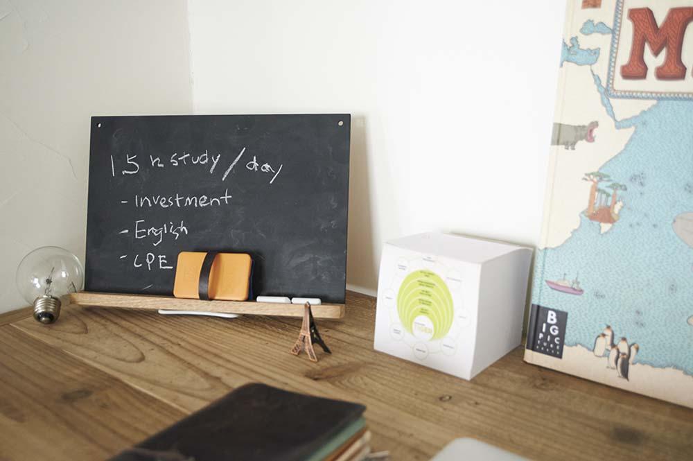 書斎、デスク、机、作業台、東京テアトル、リノまま