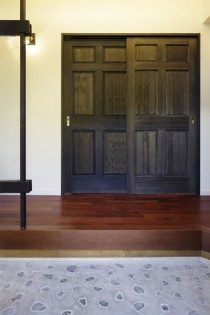 和室、玄関、エントランス、玉石、洗い出し、リノベーション