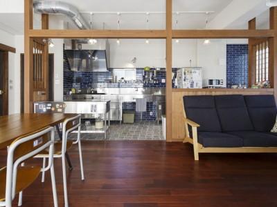 「三井のリフォーム(三井不動産リフォーム)」のリノベーション事例「こだわりの素材使いで、時間とともに味わいが増す家」