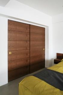 寝室、収納、クローゼット、リノベーション、ファイル、ヴィンテージ