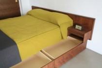 ベッド下、収納、引き出し、オリジナル、造作、FILE