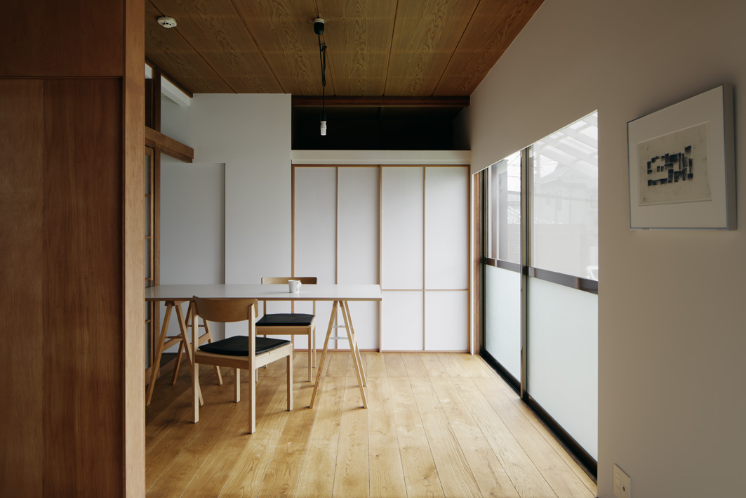 ワークスペース、書斎、障子、押入れ、収納、青木律典、株式会社デザインライフ設計室