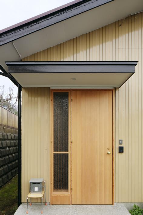 外観、玄関、ドア、外壁、戸建リノベーション