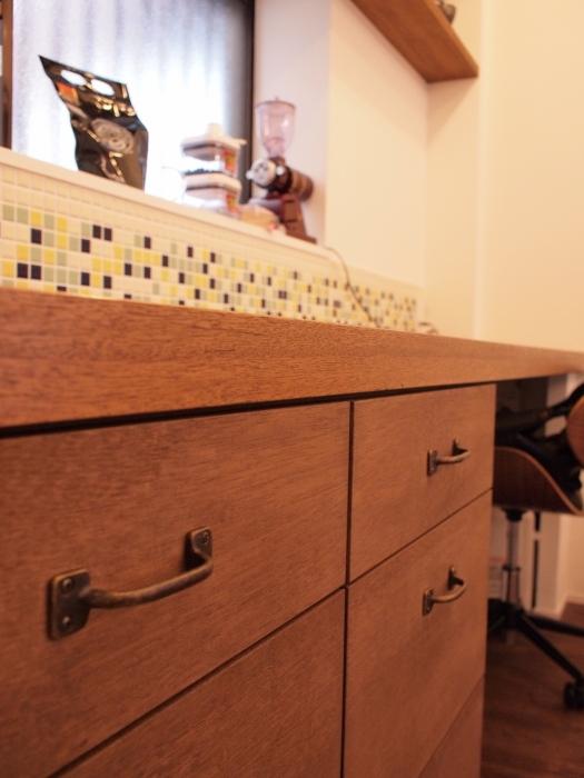 造作家具、収納、天然木、オリジナル家具、リノベーション、スタディスペース