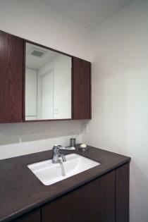 洗面台、洗面ボウル、鏡台、サニタリールーム、バスルーム、リノベーション、水回り