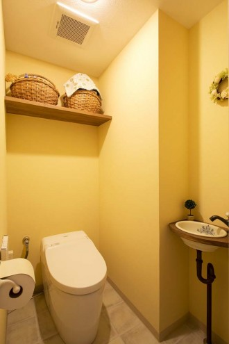 トイレ、プロヴァンス風、アンティーク調、リノベーション、秀建、水回り