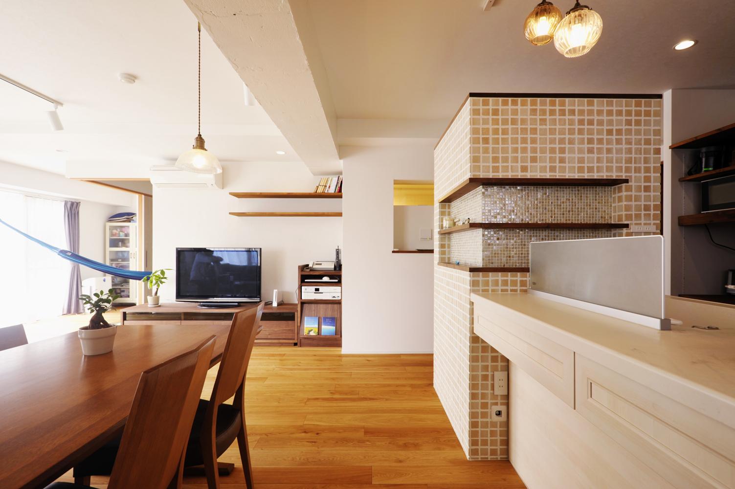 「スタイル工房」のリノベーション事例「間取りを工夫し、プライベート空間と  家族の時間を大切にできる家に」