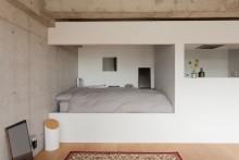 ベッドルーム、寝室、リノベーション、ecodeco、モダン