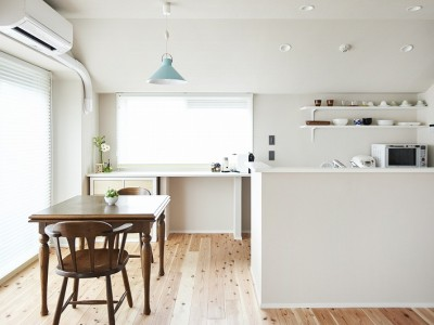 「インテリックス空間設計」のマンションリノベーション事例「住まいに求めたのは「暮らしやすさ」~国産スギのぬくもりを感じる住まい~」