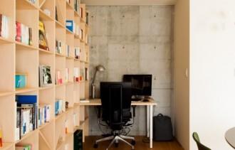 ライブラリー、書斎、ワークスペース、スタディスペース、マルガリータ、本棚、リノベーション、ecodeco