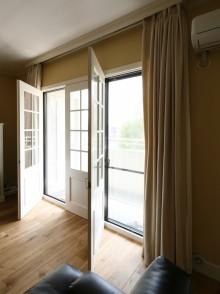 掃き出し窓、マンションリノベーション、窓枠、ヨーロピアン、リノベーション、file
