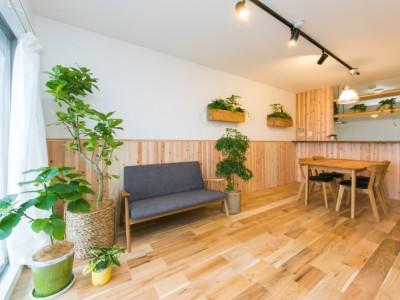 「リノベの一歩(株式会社 一歩)」のマンションリノベーション事例「『Green Life』」