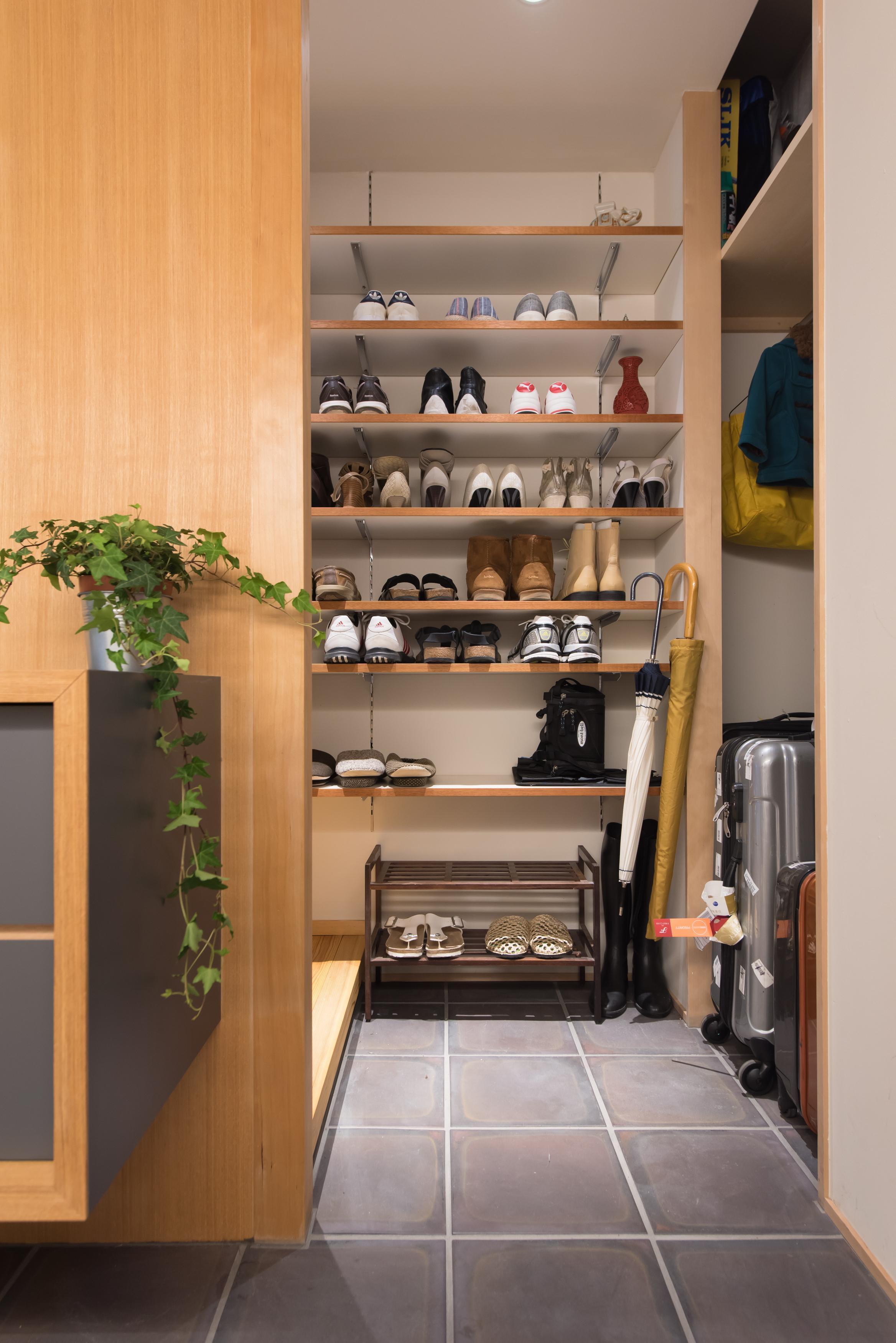 土間、玄関土間、リノベーション、マンションリノベーション、ハンズデザイン一級建築士事務所