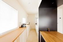 キッチン、キッチンカウンター、造作家具、キッチン収納、収納家具、リノベーション、ecodeco