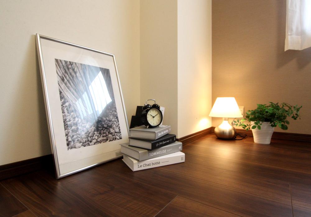 寝室、ウォルナットカラー、リノベーション、マンションリノベーション、リノステージ