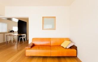 リビング、室内窓、引き込み窓、マンションリノベーション、リノベーション、ecodeco