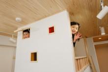 子供部屋、キッズルーム、秘密基地、2段ベッド、オリジナル家具、天然木、無垢材、無垢フローリング、自然素材、水工房、リノベーション
