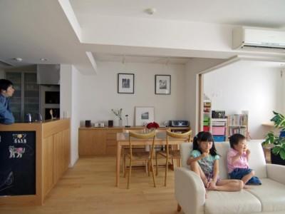 「スタイル イズ スティルリビング」のマンションリノベーション事例「子供部屋のあるマンションリフォーム」