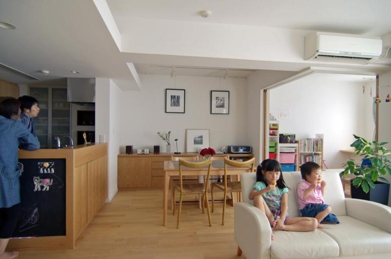 「スタイル イズ スティルリビング」のリノベーション事例「子供部屋のあるマンションリフォーム」