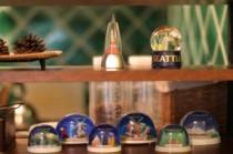 コレクション、玩具、スノードーム、棚、リノベーション、趣味