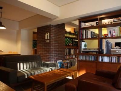 「HOUSETRAD(ハウストラッド)」のマンションリノベーション事例「アメリカンホテルをイメージしたヴィンテージマンションリノベ」