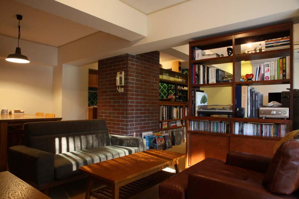 「HOUSETRAD(ハウストラッド)」のリノベーション事例「アメリカンホテルをイメージしたヴィンテージマンションリノベ」