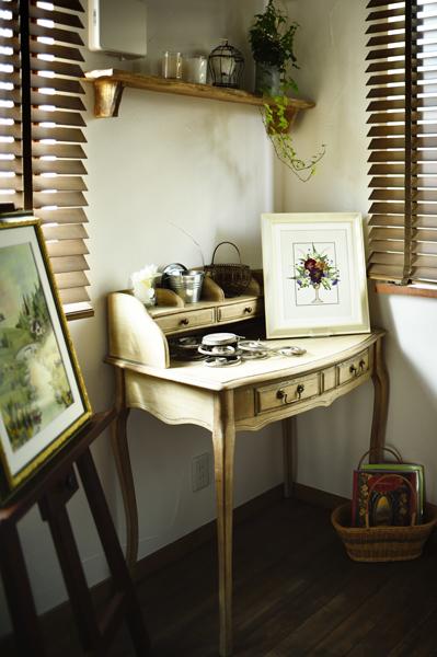 アトリエ、アンティーク、ハトレケ、自然素材、リノベーション、ロハススタジオ、オーク、漆喰