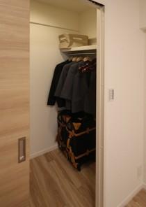 収納、ウォークインクローゼット、WIC、寝室、リノベーション、リノステージ