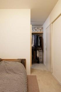 寝室、ウォークインクロゼット、ベッドルーム、リノベーション、スタイル工房