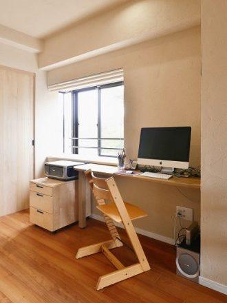 リノベーション、夢工房、リビングルーム、書斎、フリースペース、スタディスペース、ワークスペース