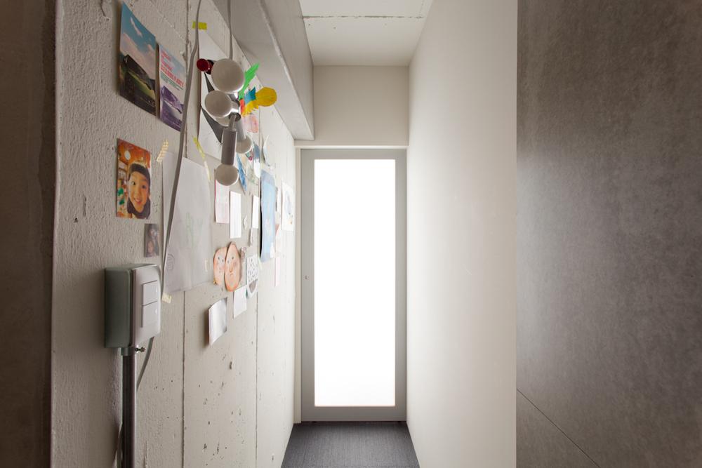 廊下、ギャラリー、ギャラリースペース、マンションリノベーション、リノベーション、ecodeco