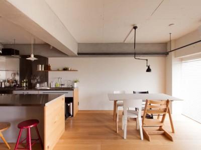 「EcoDeco」のマンションリノベーション事例「音楽と珈琲でつながる家族の時間」