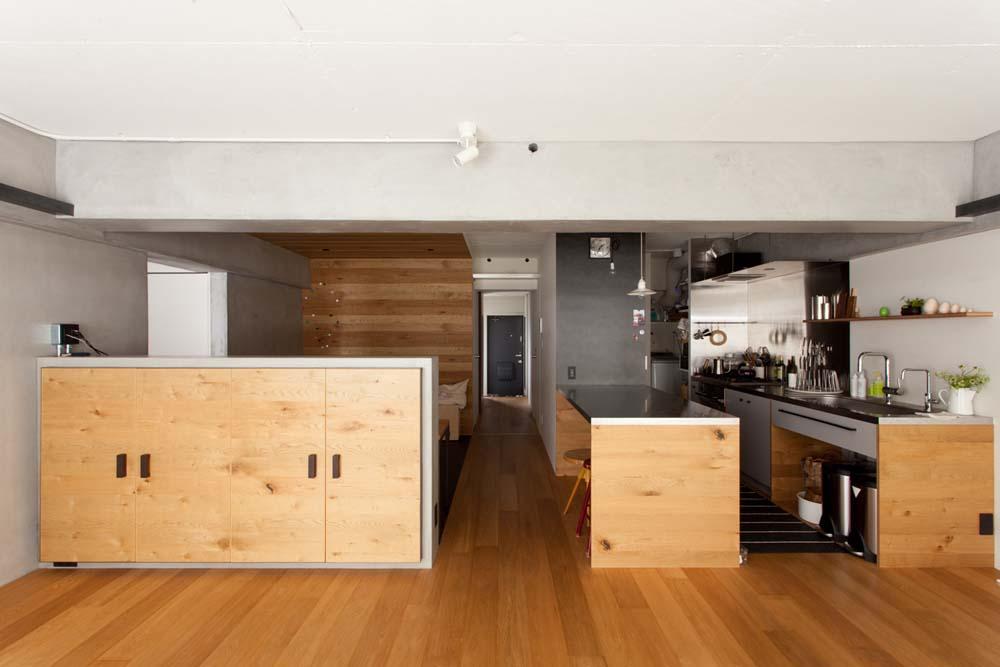 リビング、無垢、スタディスペース、趣味部屋、リノベーション、ecodeco