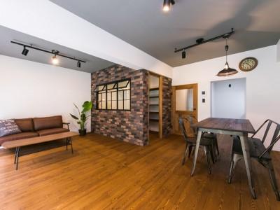 「リノベの一歩(株式会社 一歩)」のマンションリノベーション事例「『NYブルックリン』」
