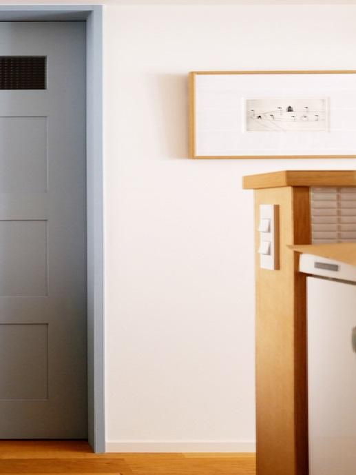 キッチン、カウンターキッチン、空間社、リノベーション、一人暮らし、スイッチ