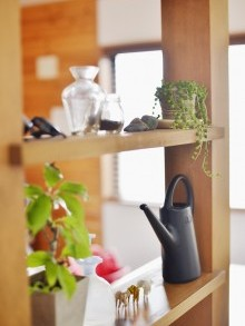 飾り棚、オープンシェルフ、スタイル工房、リノベーション、自然素材